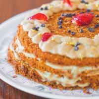 Torta Alle Fragole (integrale e Basso Indice Glicemico)