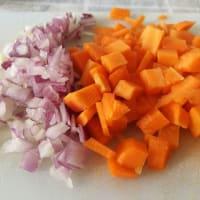 Ragù di lenticchie step 1