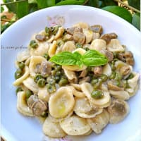Orecchiette With Broad Beans And Peas