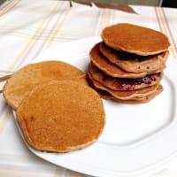 Pancakes vegani proteici