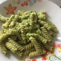 Zucchini and almond pesto