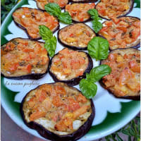 Gratinated Eggplants With Cherry Tomatoes