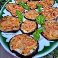 Berenjenas gratinadas con tomates cherry