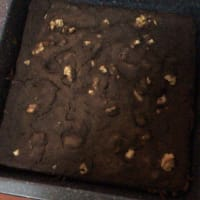 Brownie choco vegano paso 3