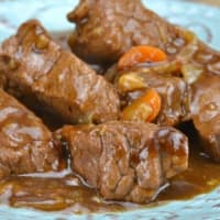 Italian stew with pressure cooker