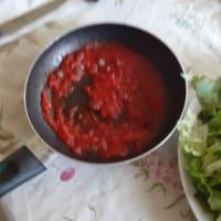 Tonno e insalata cotta al pomodoro paso 2