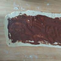 Cinnamon Rolls vegani step 4