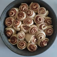 Cinnamon Rolls vegani step 6