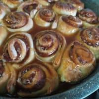 Cinnamon Rolls vegani step 7
