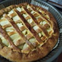 Torta di mele con composta di mele step 6