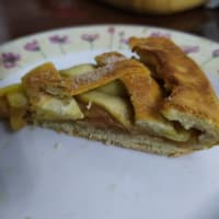 Torta di mele con composta di mele step 8