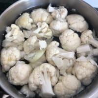 Pasta cavolfiore e crema di zucchine step 1
