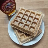 Waffle di avena Clean Eating