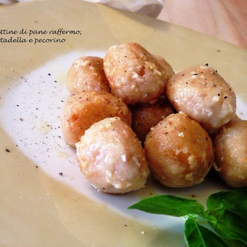 Meatballs of stale bread and bologna