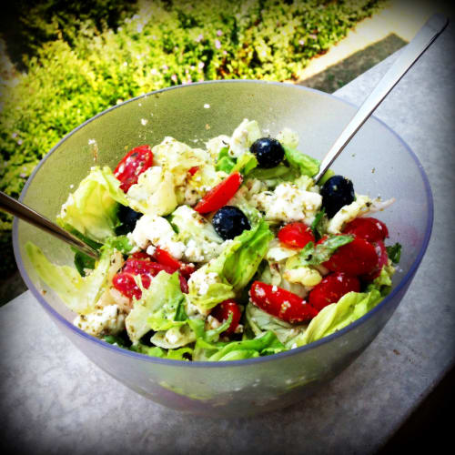 Italian Greek salad