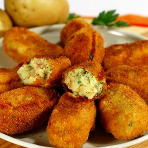 Turnovers zucchini and potatoes