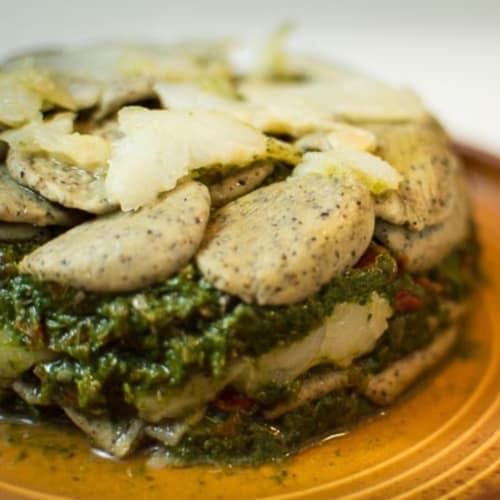 Feuille de brócoli y el cáñamo