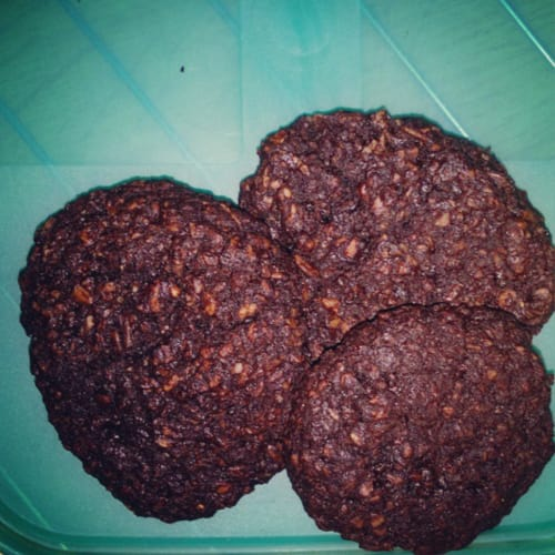 galletas de galletas con chocolate