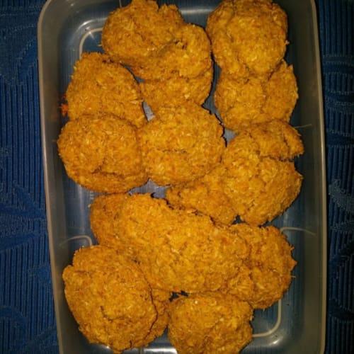 Cookies senza glutine alla carota