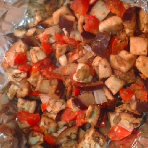 Eggplant baked