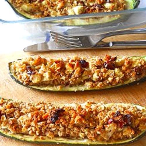 zucchini relleno al horno