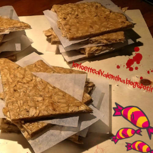 oat bars and peanut butter