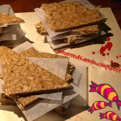 barras de avena y mantequilla de maní