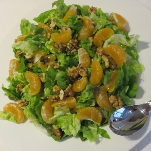 Salad with Clementines