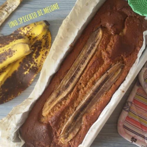 Pan de plátano sin mantequilla