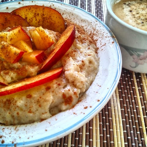 Porridge proteico d'avena
