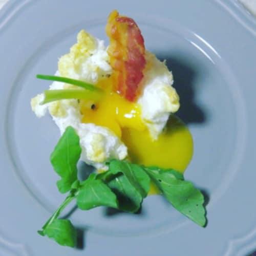 L'uovo è senza la camicia