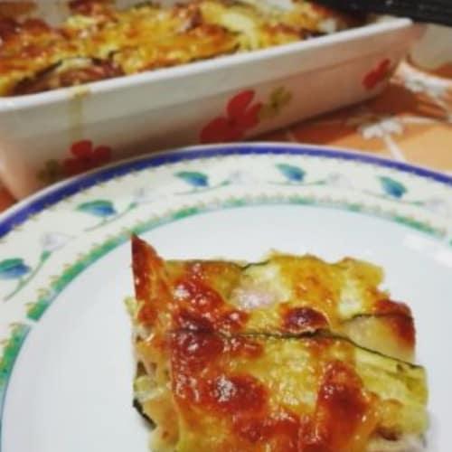 Lasagne di zucchine senza glutine