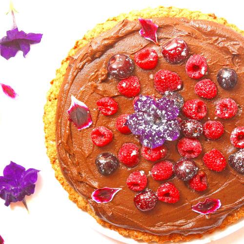 tarta de chocolate con batatas verduras y sin gluten