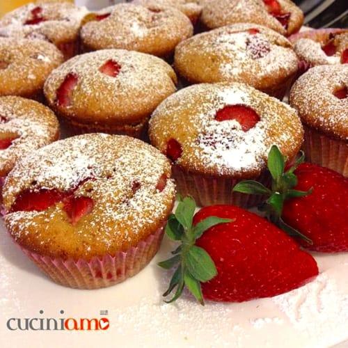 Mollete con las fresas, más mullida y delicioso