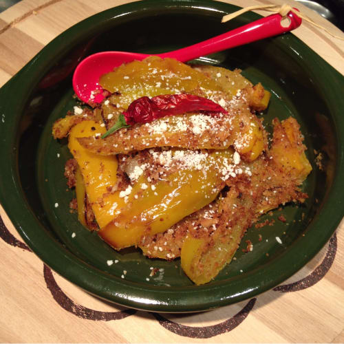 Peppers with pangratatto
