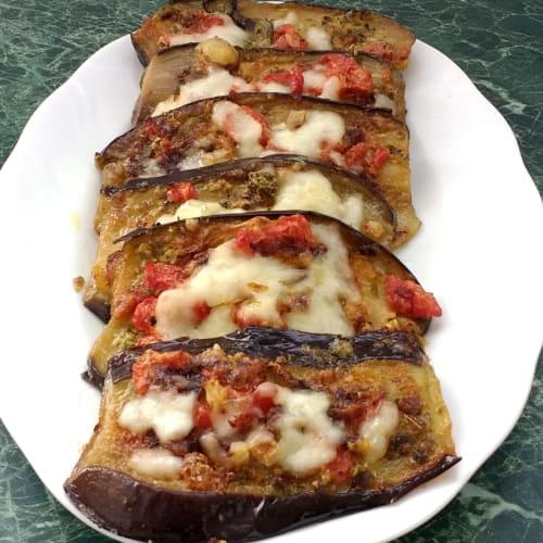 Pizzette eggplant