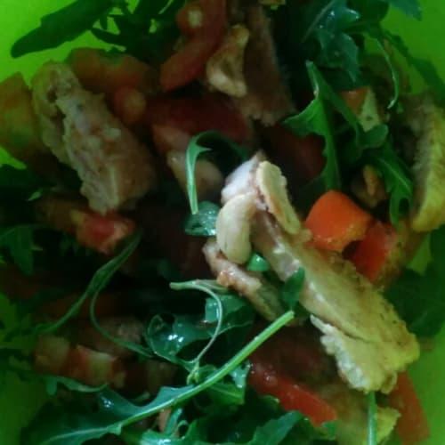 turkey salad with cashews