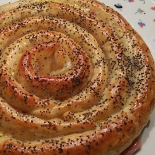 masa de la pasta Snail