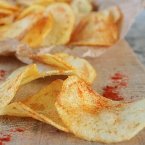 Patatine croccanti alla paprika