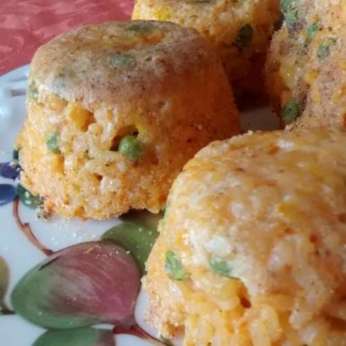 peas Saffron Rice Pudding