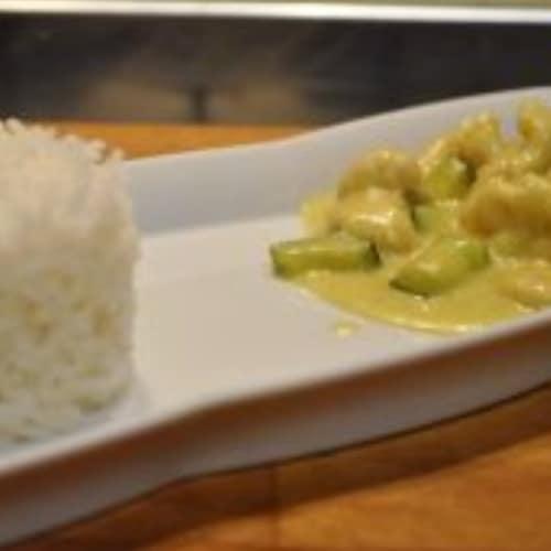 Petto di pollo al curry a modo mio