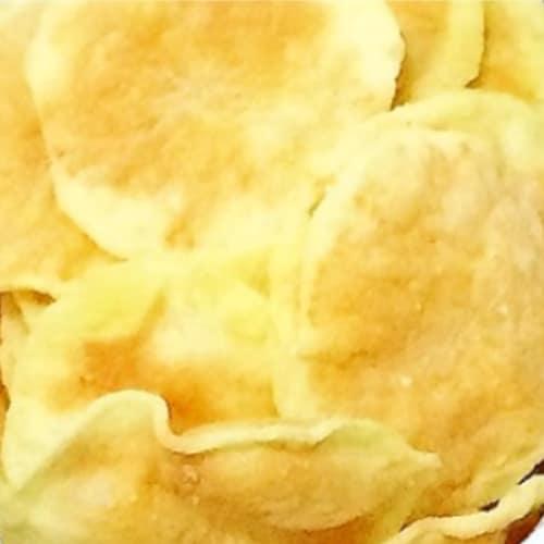 Chips di patate senza olio