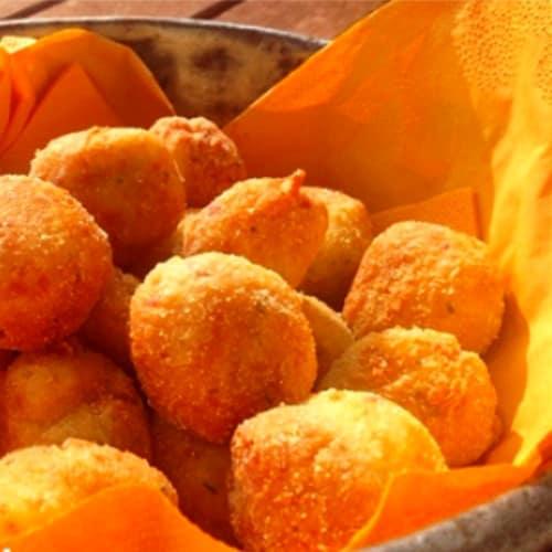 Ciliegine de mozzarella y otras golosinas