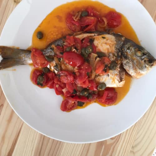Sea bream to 'acquapazza
