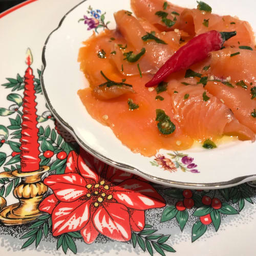 Salmone in lime