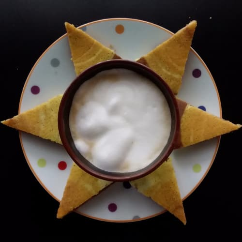 Pancake cacao e arancia