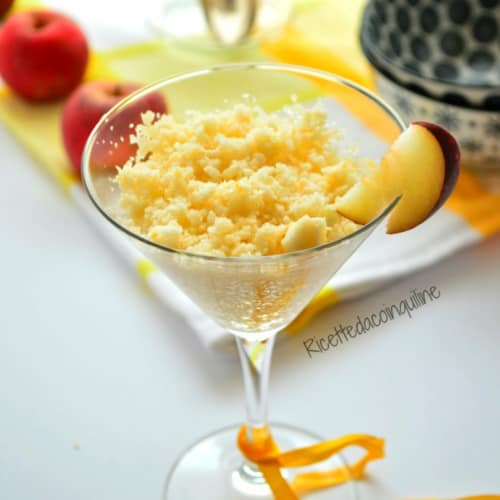 Granita to apple annurca