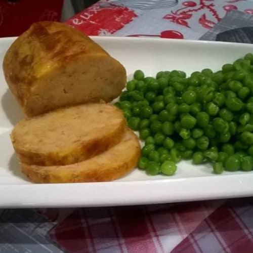 Pastel de carne de atún