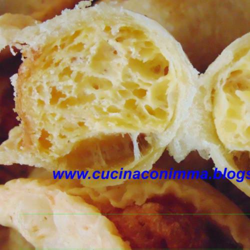huevos y queso panzarotti