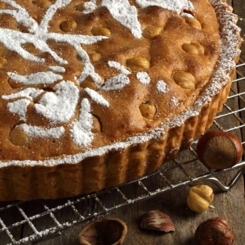 Tart hazelnuts and almonds